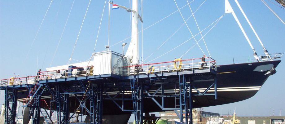 Maintenance on our lifting system