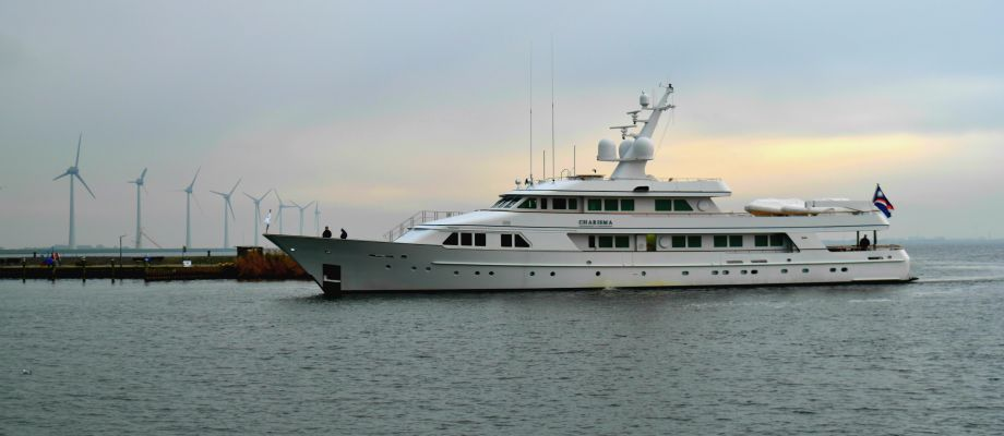 Balk Shipyard welcomes Charisma